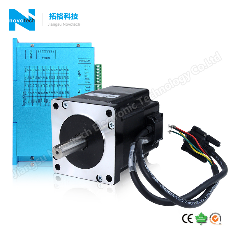 nema34 servo stepper motor with encoder built-in