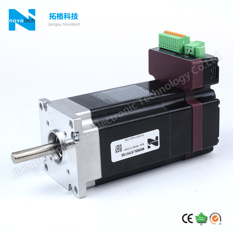 Nema23 Integrated Brushless Servo Motor With Driver Built-in