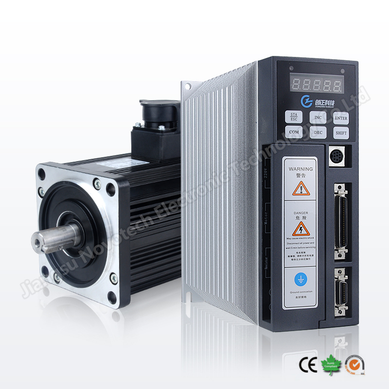 nema 42 China AC servo motor and driver 220V
