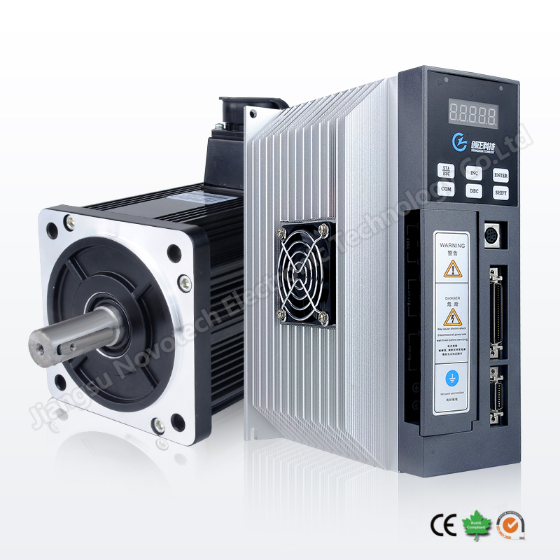 nema 52 China AC servo motor and driver 380V high accuracy